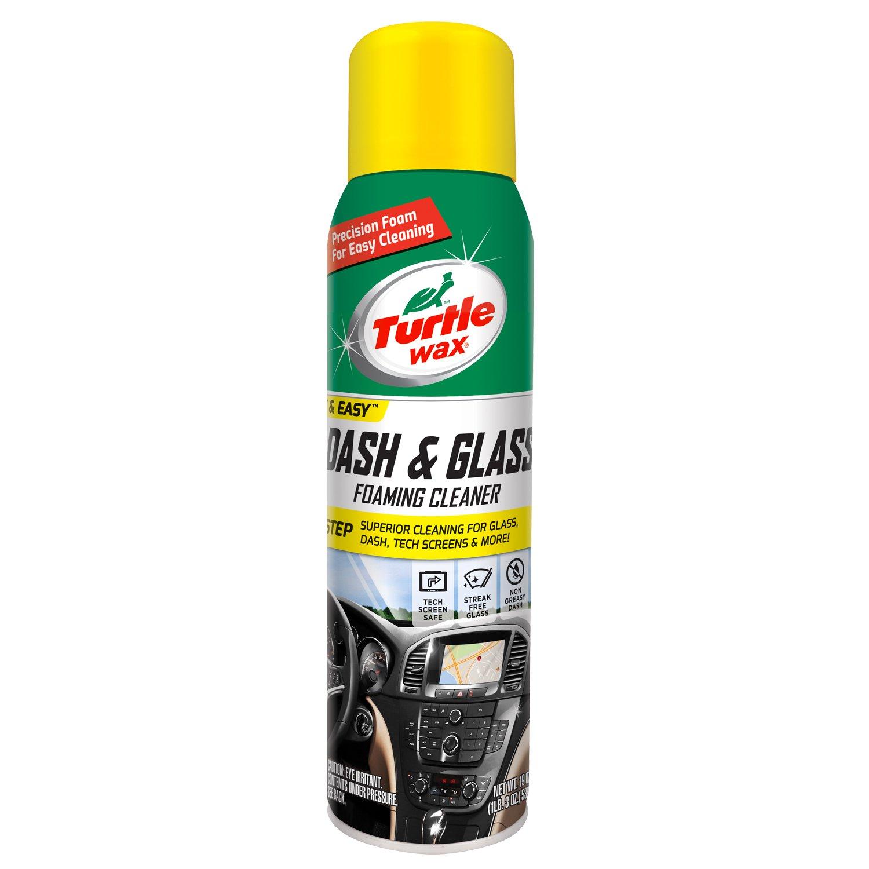 Turtle Wax 50599 Dash & Glass Foaming Cleaner - 19 oz.