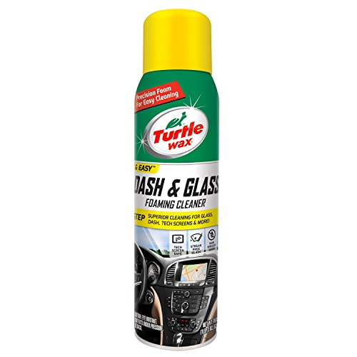 Turtle Wax 50599 Dash & Glass Foaming Cleaner