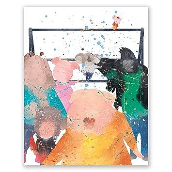 Amazon Com Pgbureau Sing Movie Poster Nursery Wall Art