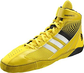 check out 324cd ee7bf adidas Response 3.1 Chaussures de Boxe – Jaune Noir – 9