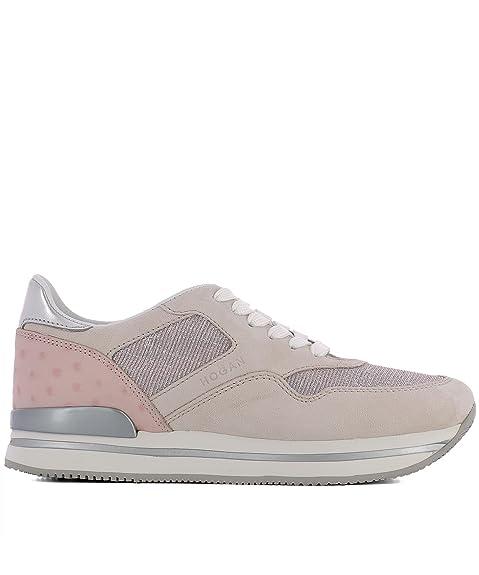 Alta qualit Hogan sneakers donna H222 scamosciate vendita