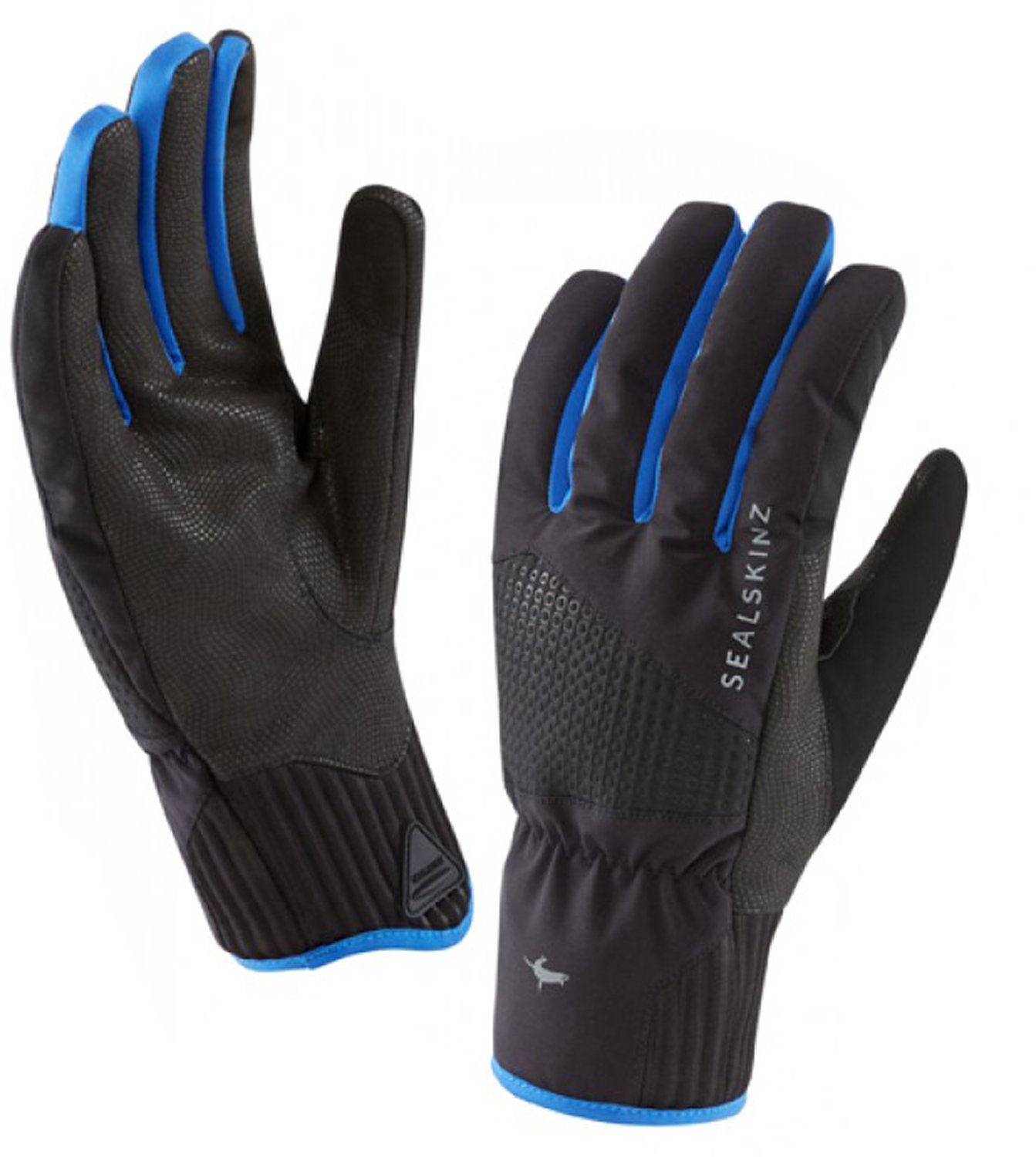 SealSkinz–Helvellyn XP impermeable guantes–negro/azul