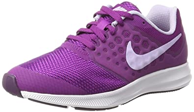 outlet store d9d8f 38d79 Nike Downshifter 7 (GS), Chaussures de Running Compétition Femme,  Multicolore (Night