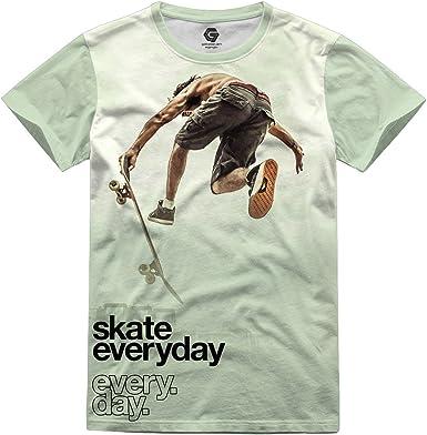 GATESEVEN Camiseta de Hombre Skate Streetwear Urban Style, L: Amazon.es: Ropa y accesorios