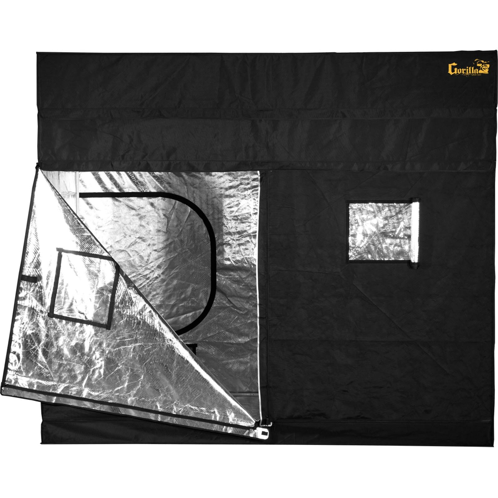 Gorilla Grow Tent GGT59 Tent, 5 by 9 by 6-Feet/11-Inch, Black