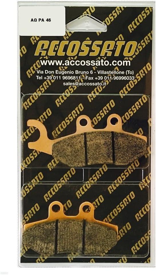 Accossato Pastiglia freno AGPA46OR 800 GILERA  GP 800 2008
