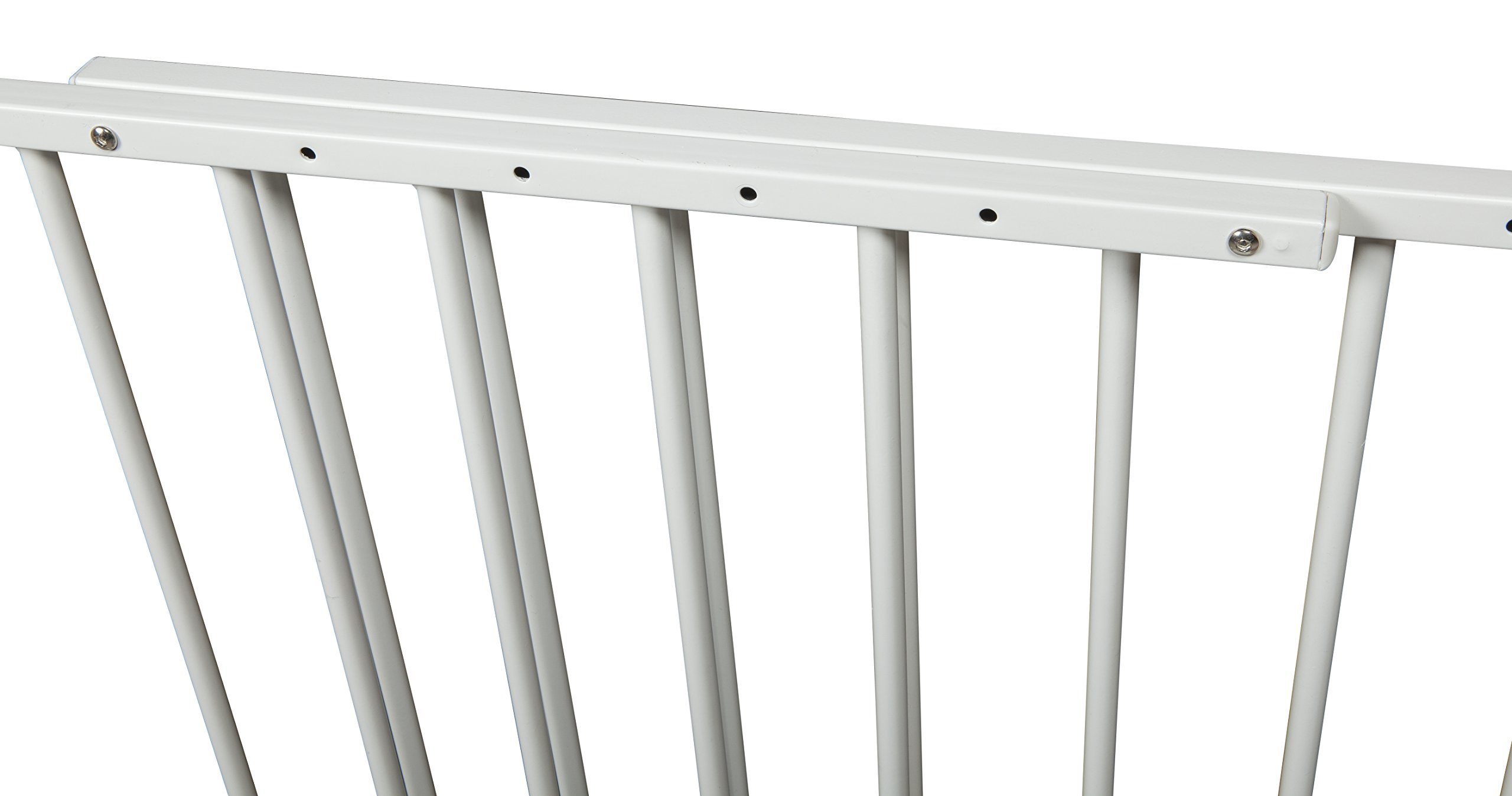 Storkcraft Easy Walk-Thru Tall Metal Safety Gate, White Adjustable Baby Safety Gate For Doorways and Stairs, Great for Children and Pets by Stork Craft (Image #5)