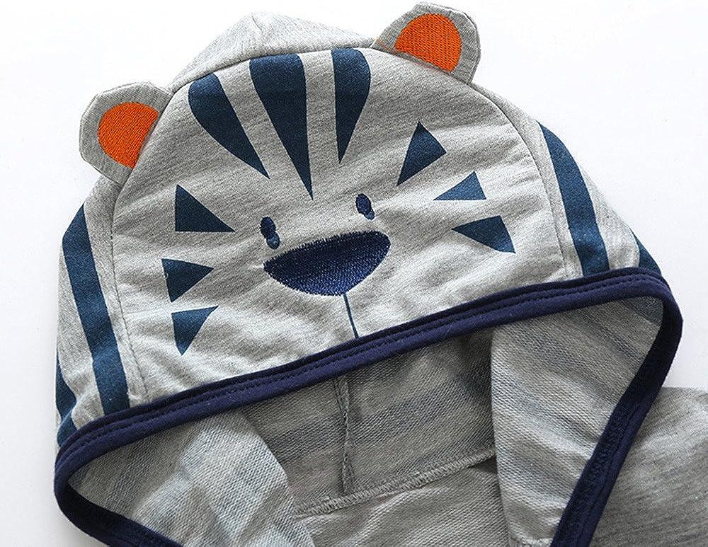 Coat Jacken Herbst Winter Junge M/ädchen Karikatur Fuchs Tiger Rei/ßverschluss Kapuzenjacke Kleidung Warm Outwear FeiliandaJJ Baby Kinder Mantel