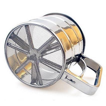 Fuluxor - Tamizador Cribador de Harina - Inox - 250 g ...