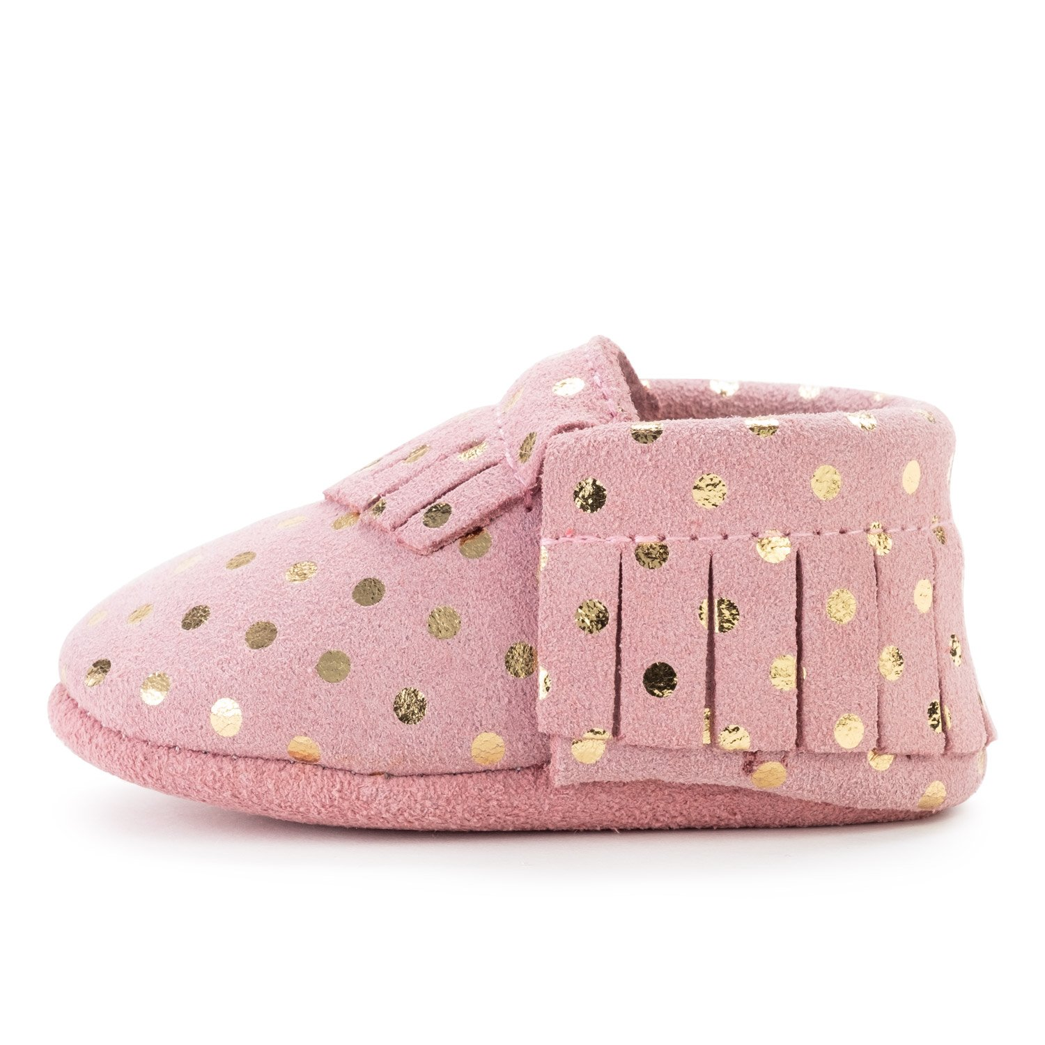 BirdRock Baby Moccasins - 30+ Styles for Boys & Girls! Every Pair Feeds a Child (Infant | 0-6 Months | US 2, Confetti)