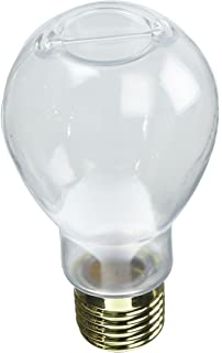 Amazoncom 4 14 Light Bulb Thick Clear Glass Bottle Lid Jar
