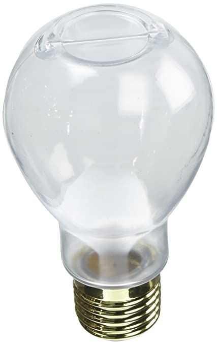 Amazon 4 14 Glass Light Bulb Jar With Gold Lid Home Kitchen