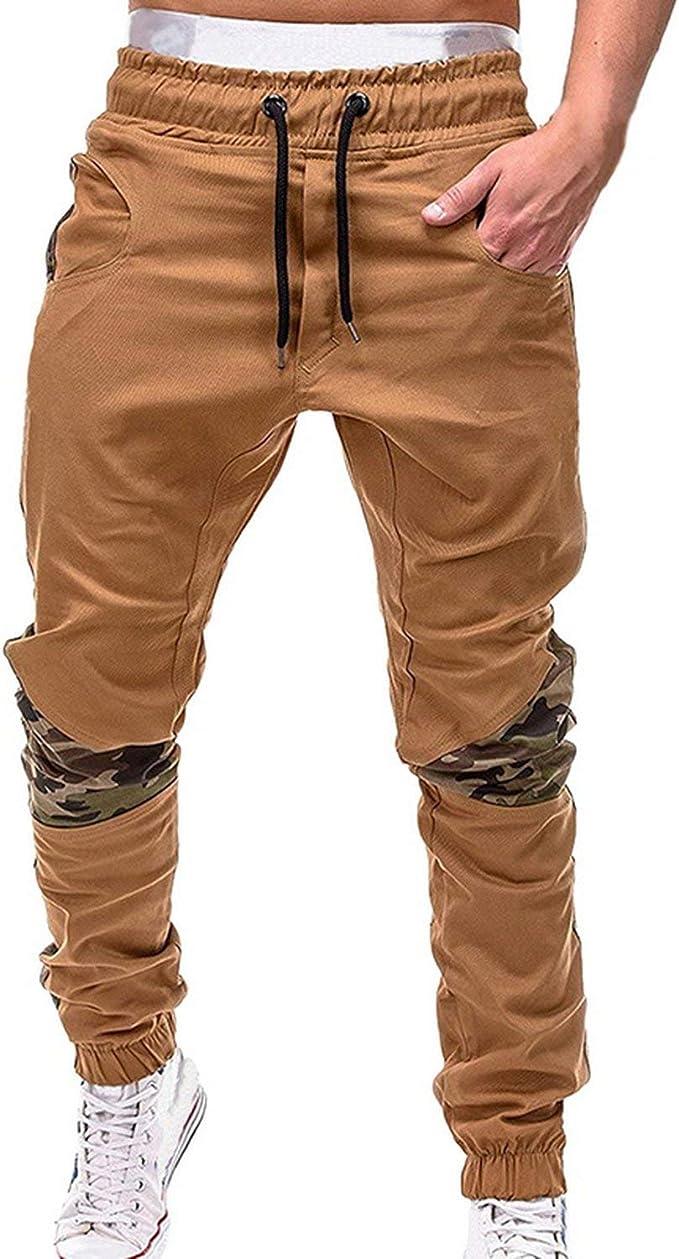 Heat-Tracing Pantalones para Hombre, Pantalones de Deporte de Moda ...