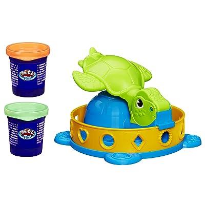 Play-Doh Twist 'n Squish Turtle Playset: Toys & Games