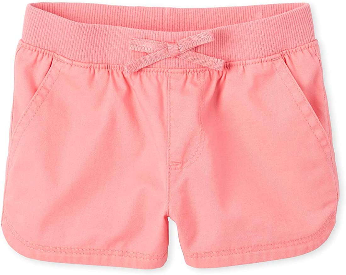 The Childrens Place Baby Girls Drawstring Shorts