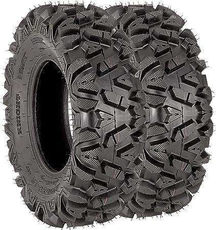 VANACC 2PCS 25x8-12 ATV//UTV Tires 6 Ply Rating Tubeless