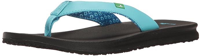 4b32d7764b6b Amazon.com  Sanuk Women s Yoga Mat Wander Flip-Flop  Sanuk  Shoes