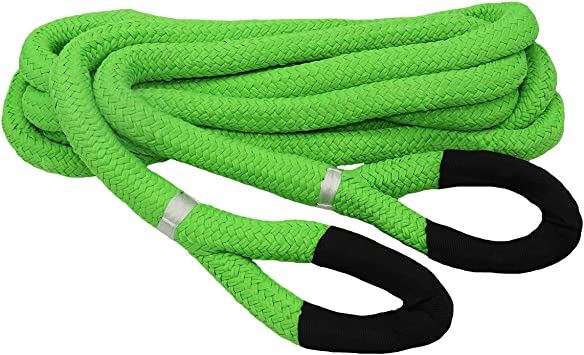 Grip 20 ft x 7//8 in Kinetic Energy Recovery Rope for Off Roading