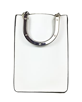 Zara Women s Mini tote bag with metallic handles 8608 204  Amazon.co ... 7f35a92964