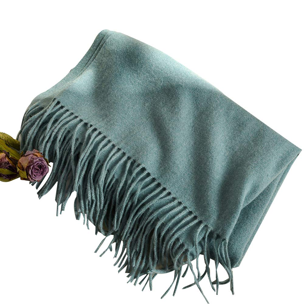 Eagool Thick Cashmere Scarf for Women Ladies Gift Idea Extremely Warm Super Soft Wool Wrap Shawl for Winter Autumn and Spring