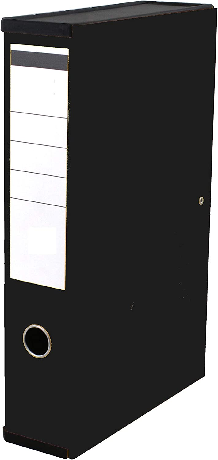 Black Very Strong Premium Quality Linen Box Files A4 Foolscap