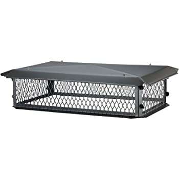 Amazon Com Shelter Scss913 Stainless Steel Chimney Cap