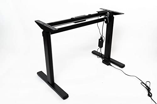 Electric Stand Up Desk Frame Without Tabletop - the best modern office desk for the money