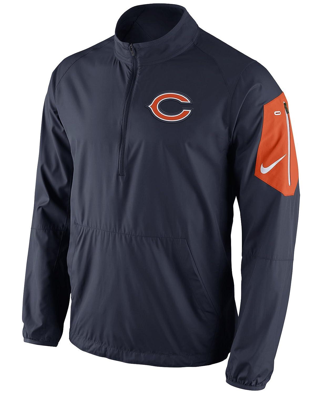 Amazon.com   Nike Chicago Bears Dri-Fit Onfield Navy Lockdown Hybrid Jacket  (Small)   Sports   Outdoors 4646cae4b