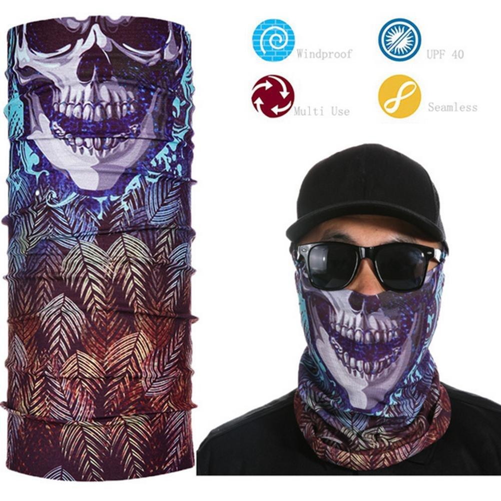 Máscara en 3D para cara, cuello, gorro de invierno, bufanda mágica ...