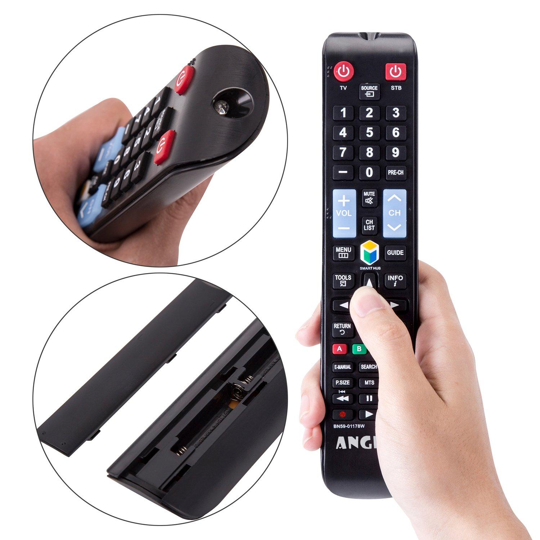 Angrox - Mando a distancia universal de repuesto para televisores HDTV, LCD, LED, 3D, Smart TV: Amazon.es: Electrónica