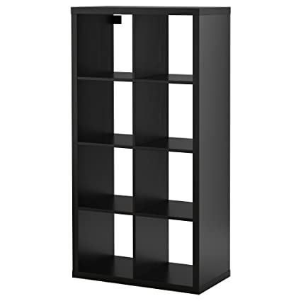 kallax regal ikea schwarzbraun 8 f cher ebay. Black Bedroom Furniture Sets. Home Design Ideas