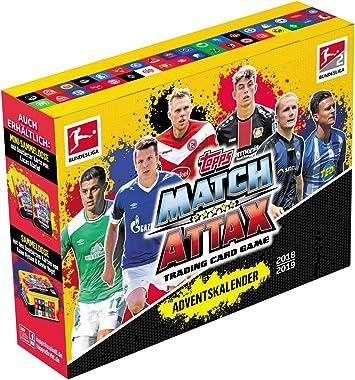 bundesliga match attax 2019/20 adventskalender