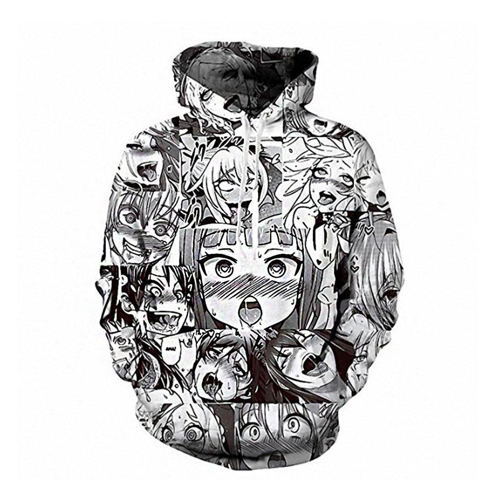 Amazon com mens unisex hoodies sweatshirt pullovers 3d print tracksuit zip up jacket clothing
