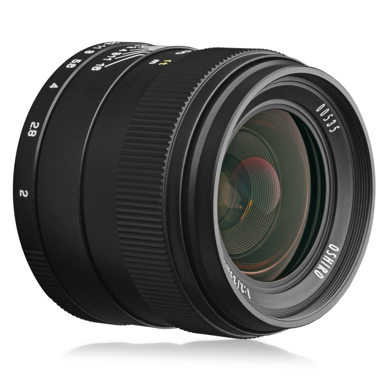 Oshiro 35 mm f / 2 LD UNC ALワイド角度フルフレームPrime Lens for Canon EOS 80d、70d、60d、60da、50d、1ds、7d、6d、5d、5ds、Rebel t6s、t6i、t6、t5i、t5、t4i、t3i、t2i、t3 sl1デジタル一眼レフカメラ   B011A356TU