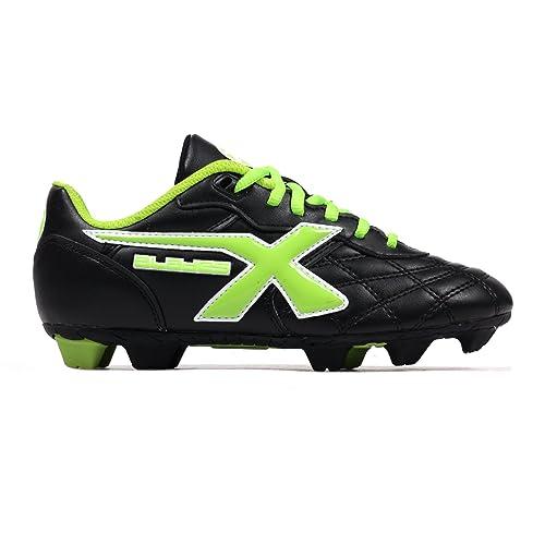 X Blades Young Legend Niño Botines De Rugby Zapato Negro/ Verde - Negro, 3 UK: Amazon.es: Zapatos y complementos