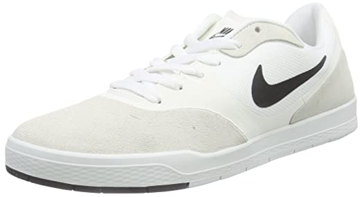 Nike Paul Rodriguez 9 CS Skate Shoe - Mens Summit White/Black, 11.5