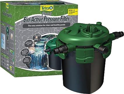 Amazon.com: TetraPond Bio-Active Pressure Filter with UV Clarifier ...