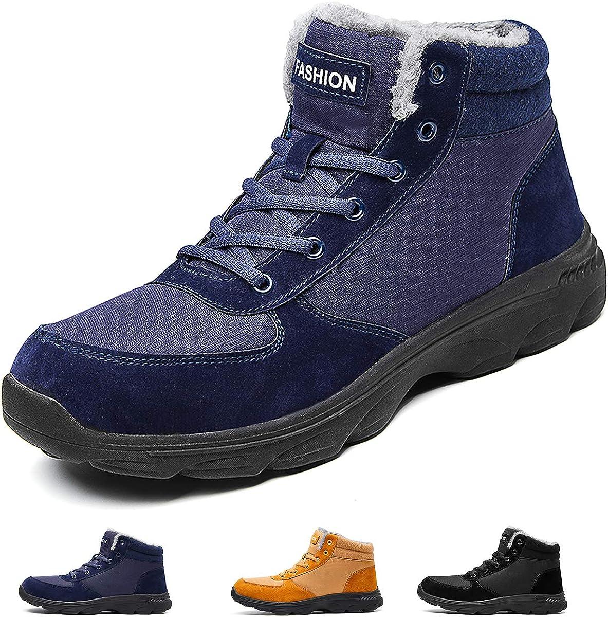 Sunny Holiday Mens Winter Boots Men