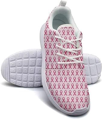 Amazon.com | Hobart dfgrwe Breast Cancer Women Flat Bottom ...
