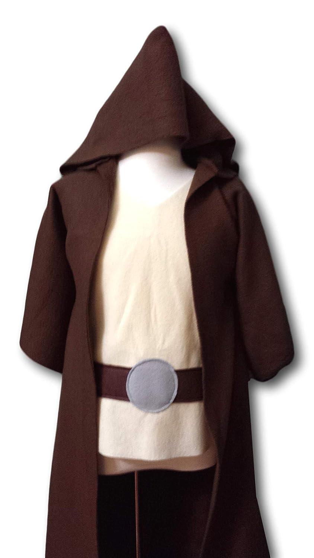 Toddler Teen Adult Sizes Luke Skywalker // Obi Wan Kenobi // Jedi Knight // Jedi Master Kids Star Wars Jedi Robe Costume Set Baby