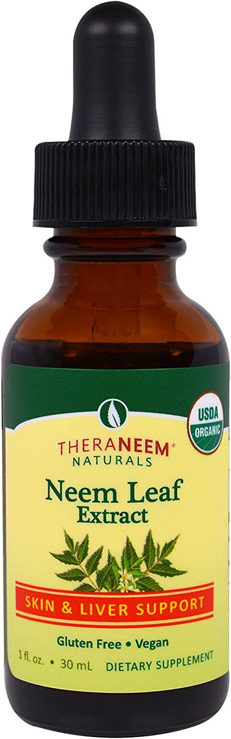 Theraneem Neem Leaf Alcohol Extract, 1 Ounce: Health & Personal Care