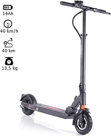 Futbolines 2.0 City Scooter eléctrico Patinete Equilibrio, 40 KM Alcance 35 km/h by monowheel: Amazon.es: Juguetes y juegos