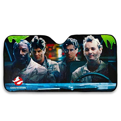 Ghost Busters Original Cast Windshield Sun Shade | Murray Aykroyd Hudson Ramis: Automotive