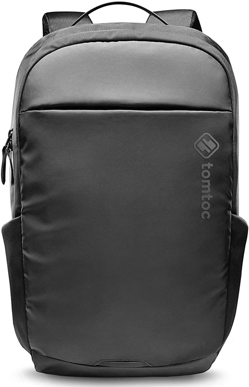 tomtoc 15.6 Inch Professional Business Laptop Backpack, Premium Cordura Material Waterproof Travel Computer Backpack Rucksack with Large Capacity, 26L