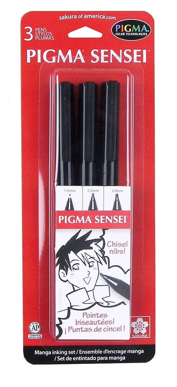Sakura 50204 8-Piece Pigma Sensei Manga Drawing Kit Sakura of America