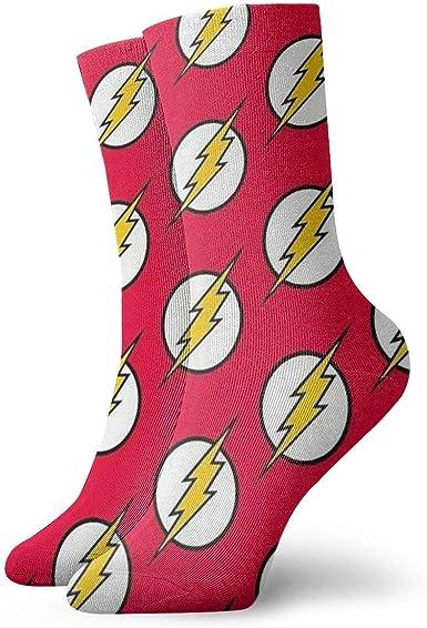 Greatbe The Flash Calcetines Transpirable Damas Hombre Algodón ...