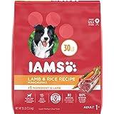 IAMS Minichunks Adult Dry Dog Food Lamb & Rice Recipe Dog Kibble, 30 lb. Bag