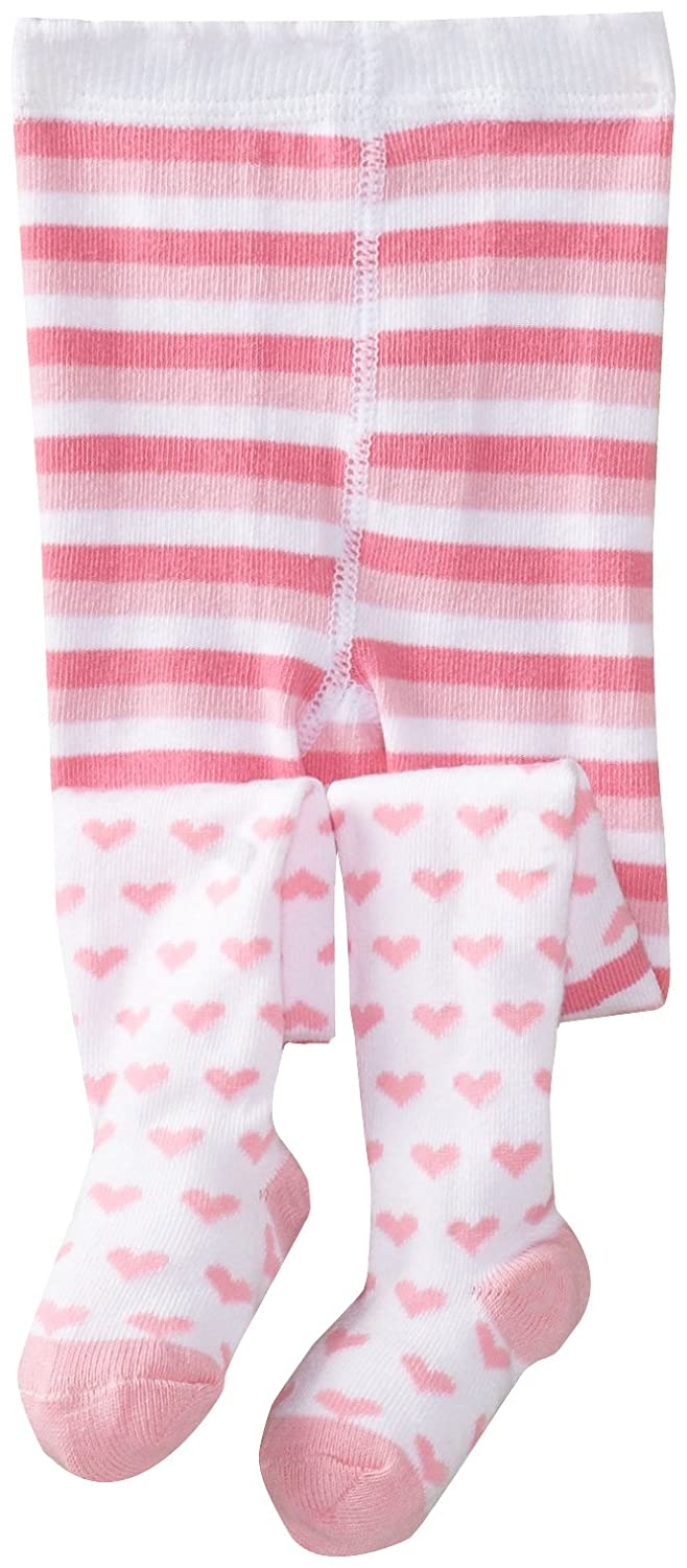 7e32e5d1881d0 Amazon.com: Jefferies Socks Baby Girls' Heart Tights: Infant And Toddler  Tights: Clothing