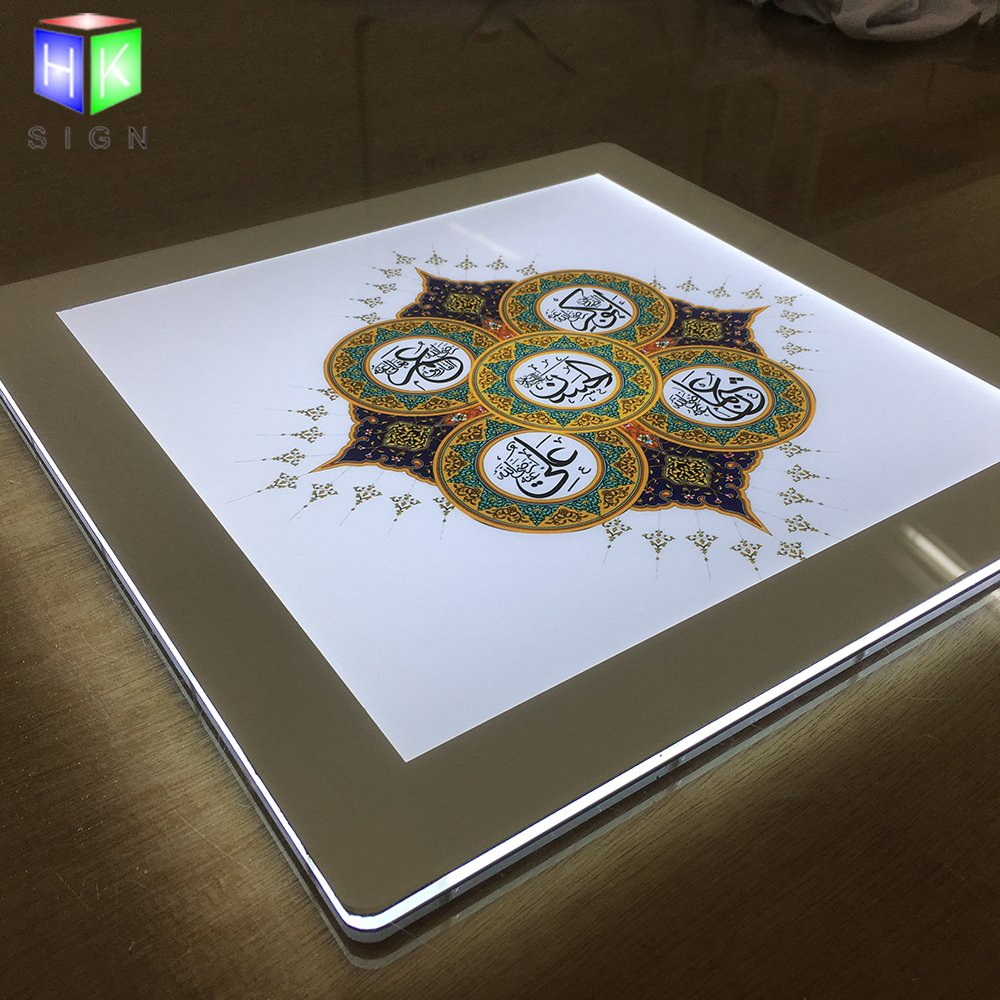 24X36inches Slim Led Acrylic Signs for Backlit Picture Frame Menu Board Advertising Display Light Box by HKSign (Image #3)