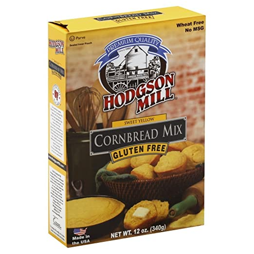Hodgson Mill Kentucky Kernal Mix Cornbread Mix Gluten Free (Pack of 2)